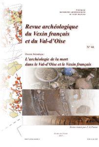 L'archéologie de la mort dans le Val-d'Oise et le Vexin français (couverture de l'ouvrage)