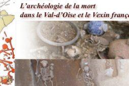 L'archéologie de la mort dans le Val-d'Oise et le Vexin français (bandeau).
